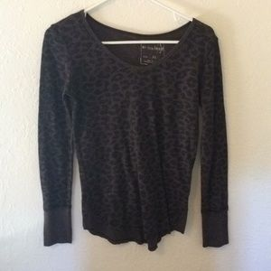 Free people leopard thermal